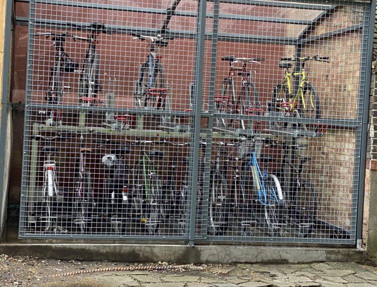 bike shed west